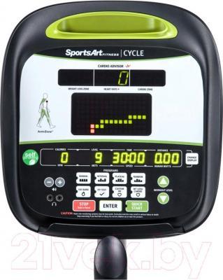 Велотренажер SportsArt C535R - панель управления