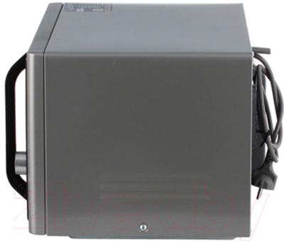Микроволновая печь Samsung MS23F302TQS/BW - вид сбоку