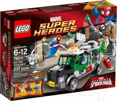 Конструктор Lego Super Heroes Кража грузовика Доктора Осьминога (76015) - упаковка