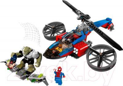 Конструктор Lego Super Heroes Спасательная операция на вертолете Человека-Паука (76016)