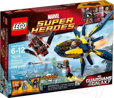 Конструктор Lego Super Heroes Битва с использованием звездных бластеров (76019) - упаковка