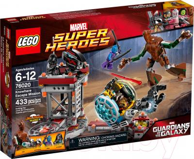 Конструктор Lego Super Heroes Миссия «Побег в Забвение» (76020) - упаковка