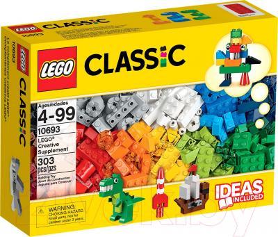 Конструктор Lego Classic Дополнение к набору для творчества – яркие цвета (10693) - упаковка