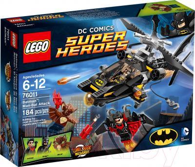 Конструктор Lego Super Heroes Бэтмен: Атака Человека-Летучей мыши (76011) - упаковка