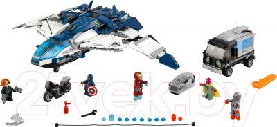 Конструктор Lego Super Heroes Погоня на Квинджете Мстителей (76032)