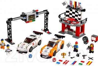 Конструктор Lego Speed Champions Финишная линия гонки Porsche 911 GT (75912)
