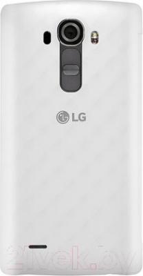 Чехол-книжка LG CFR-100CAGRAWH (белый) - вид сзади