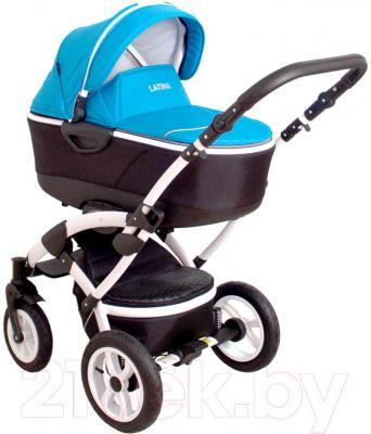 Детская универсальная коляска Coto baby Latina 3 в 1 (голубой)