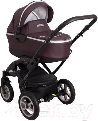 Детская универсальная коляска Coto baby Latina 3 в 1 (коричневый)