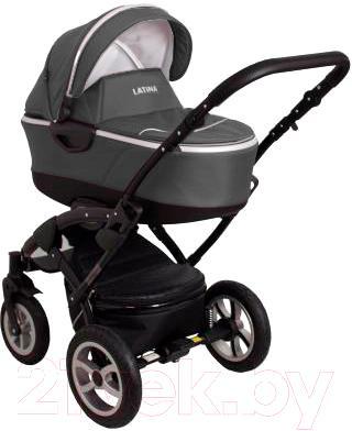Детская универсальная коляска Coto baby Latina 3 в 1 (графит)