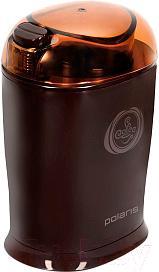 Кофемолка Polaris PCG 1017 (коричневый)