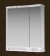 Шкаф с зеркалом для ванной Ванланд Венеция 1-65 (белый, левый) -