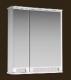 Шкаф с зеркалом для ванной Ванланд Венеция 1-65 (белый, правый) -