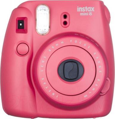 Фотоаппарат с мгновенной печатью Fujifilm Instax Mini 8 (малиновый)