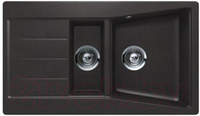 Мойка кухонная Teka Lumina 60 B-TG S / 40144200 (карбон)