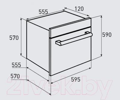 Электрический духовой шкаф Zigmund & Shtain EN 105.911 S