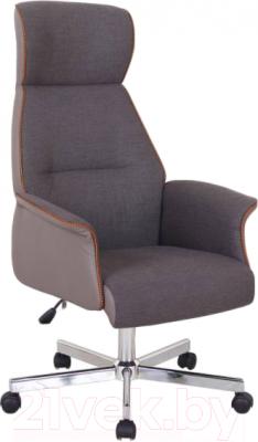 Кресло офисное Halmar Hadrian (коричнево-пепельный)