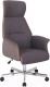 Кресло офисное Halmar Hadrian (коричнево-пепельный) -