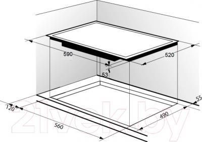 Индукционная варочная панель Zigmund & Shtain CIS 219.60 DX