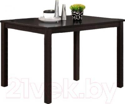Обеденный стол Halmar Trenton (темный орех)