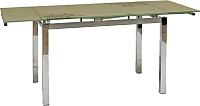 Обеденный стол Signal GD017 (темно-бежевый) -