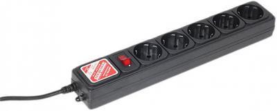 Сетевой фильтр Power Cube SPG-B-10 (черный) - общий вид
