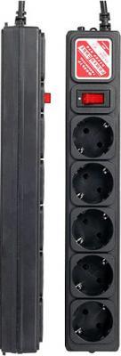 Сетевой фильтр Power Cube SPG-B-6 Black - общий вид