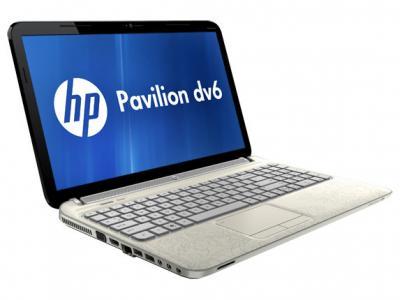 Ноутбук HP Pavilion dv6-6c04sr - повернут