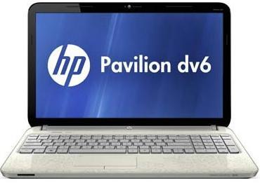 Ноутбук HP Pavilion dv6-6c04sr - спереди