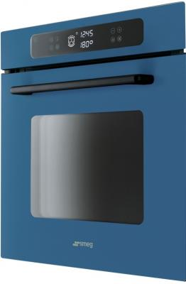 Электрический духовой шкаф Smeg FP610SBL - вид спереди