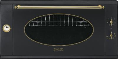 Электрический духовой шкаф Smeg S890AMFR8 - общий вид