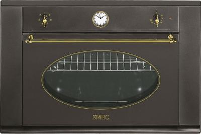Электрический духовой шкаф Smeg S890MF-8 - Вид спереди