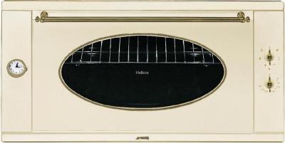 Электрический духовой шкаф Smeg S890PMFR9 - вид спереди