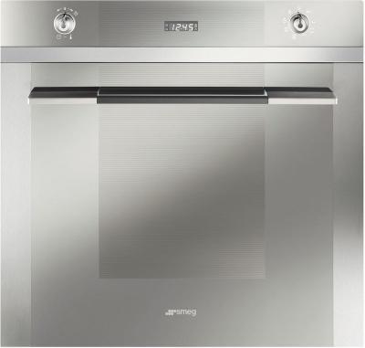 Электрический духовой шкаф Smeg SC106AL-8 - вид спереди