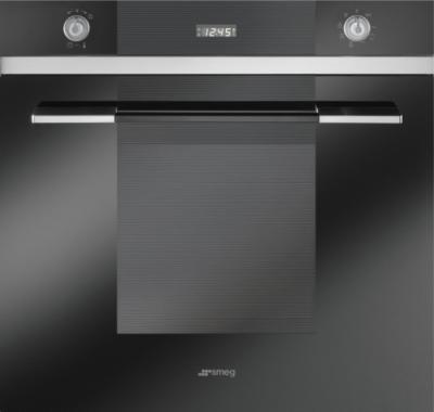 Электрический духовой шкаф Smeg SC106N-8 - вид спереди