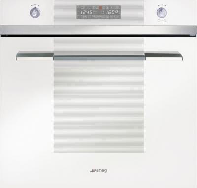 Электрический духовой шкаф Smeg SC112B-8 - вид спереди