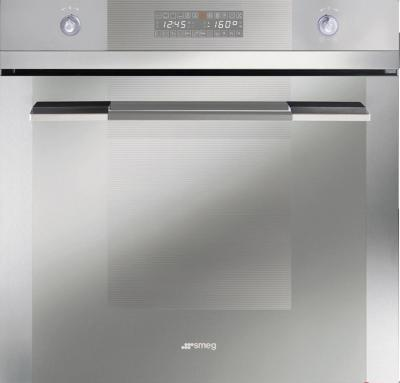 Электрический духовой шкаф Smeg SC112PZ-8 - вид спереди