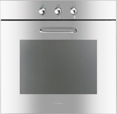 Электрический духовой шкаф Smeg SF166X - вид спереди