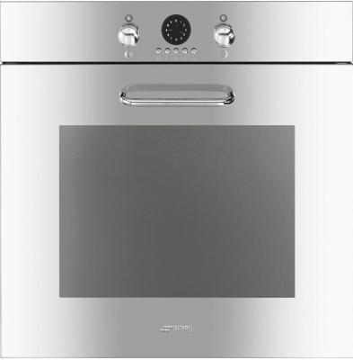 Электрический духовой шкаф Smeg SF170X - вид спереди