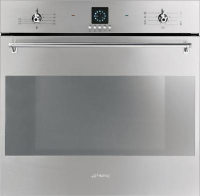 Электрический духовой шкаф Smeg SF399X - общий вид