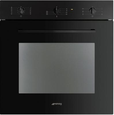 Электрический духовой шкаф Smeg SC465N-8 - вид спереди