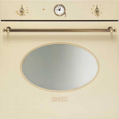 Электрический духовой шкаф Smeg SC805PO-9 - вид спереди