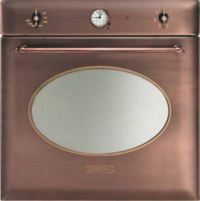 Электрический духовой шкаф Smeg SC850RA-8 - вид спереди