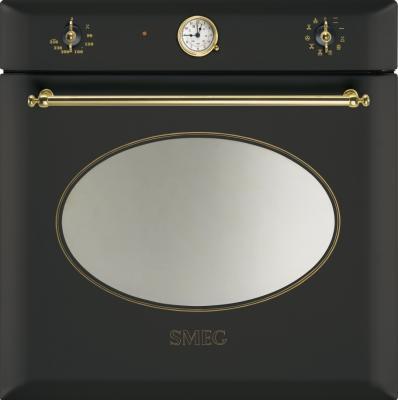 Электрический духовой шкаф Smeg SC855A-8 - вид спереди