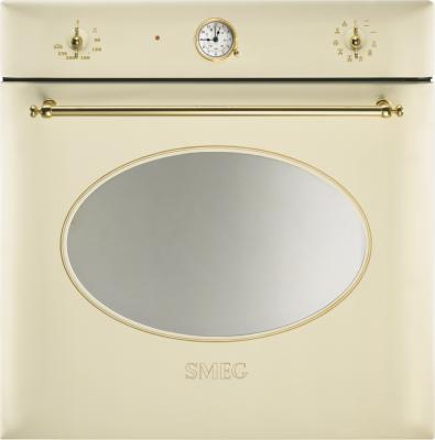 Электрический духовой шкаф Smeg SC855P-8 - вид спереди