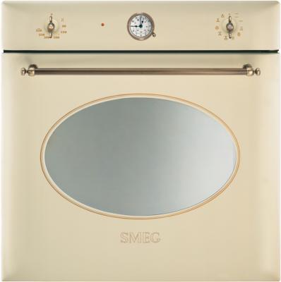 Электрический духовой шкаф Smeg SC855PO-9 - вид спереди