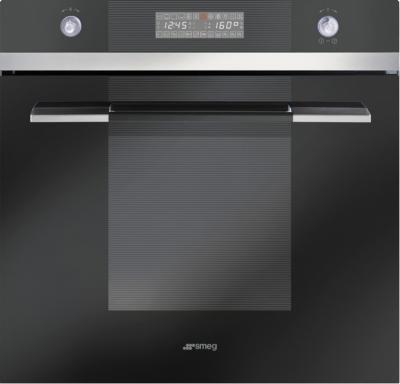 Электрический духовой шкаф Smeg SCP112N-8 - вид спереди