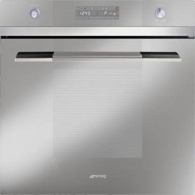 Электрический духовой шкаф Smeg SCP112SG-8 - вид спереди