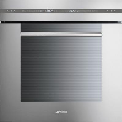 Электрический духовой шкаф Smeg SCP115X - общий вид