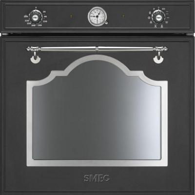 Электрический духовой шкаф Smeg SCP750AX8 - вид спереди